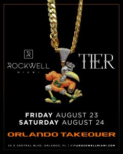 ROCKWELL SATURDAYS TIER ORLANDO TAKEOVER @ Rockwell Miami