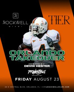 ROCKWELL FRIDAYS TIER ORLANDO TAKEOVER @ Rockwell Miami